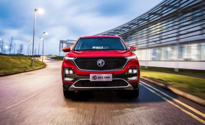 mg hector booking