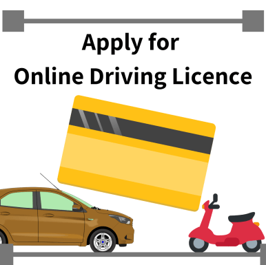 How to make a driving licence online