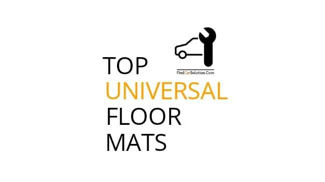 Best floor mats for cars